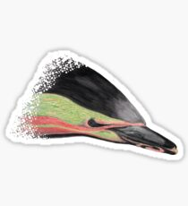 Common Dolphin (version red/green) Sticker