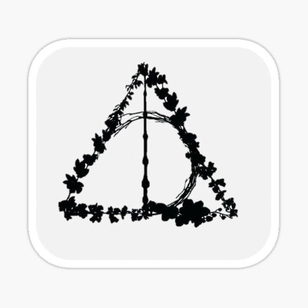 Deathly Hallows symbol Sticker