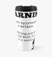 Approaching a Writer Travel Mug