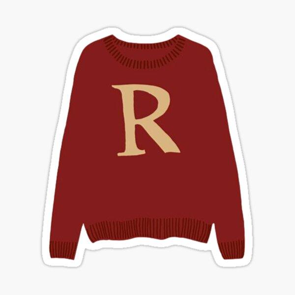 R Jumper Sticker