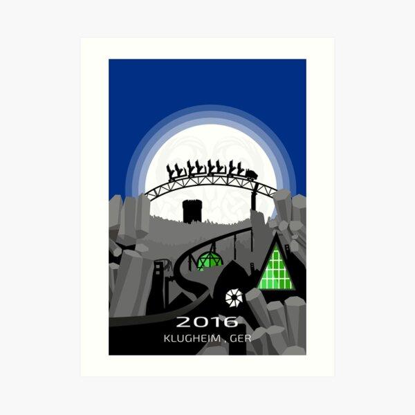 Taron Travel Poster Art Print