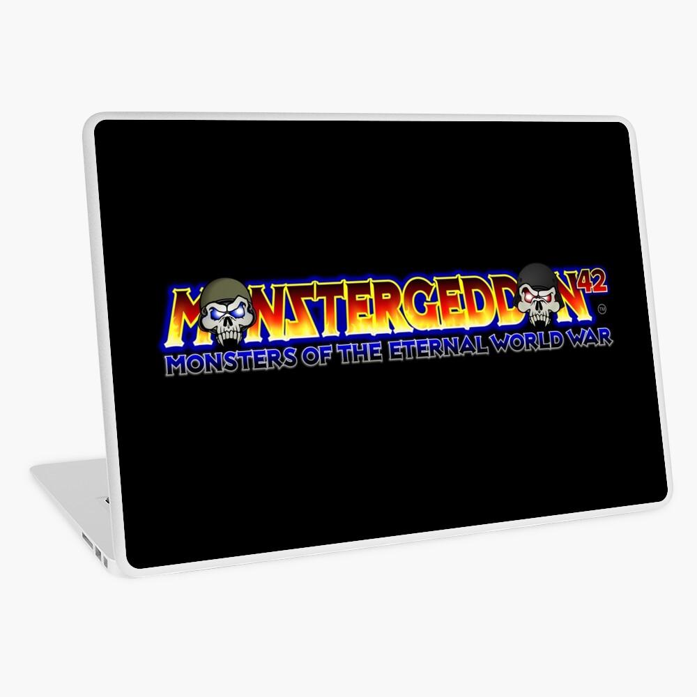 MONSTERGEDDON 42 Main Logo Laptop Skin