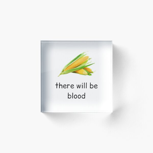 there will be blood Acrylic Block