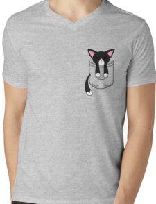 The Binding of Isaac, Guppy pocket Mens V-Neck T-Shirt