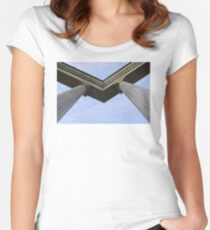 Sky angles Women's Fitted Scoop T-Shirt