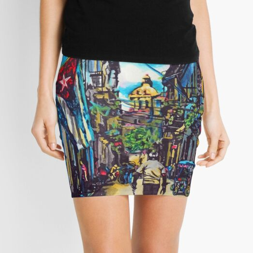 Havana, Cuba No. 2 Mini Skirt