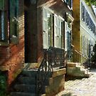 New Castle Delaware Street by Susan Savad
