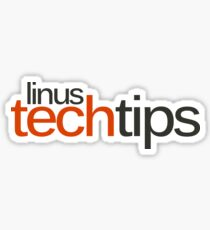 Linus Tech Tips Sticker