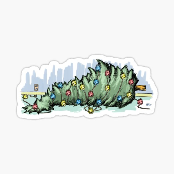 SPECIAL; KY Covid Christmas UNPLUGGED Sticker
