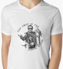 ted cruz is the zodiac killer Men's V-Neck T-Shirt