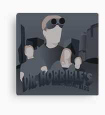 Doctor Horrible's Sing-Along Blog Canvas Print