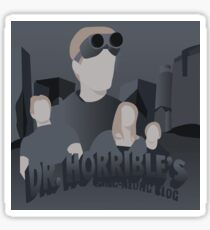 Doctor Horrible's Sing-Along Blog Sticker