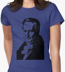 Alexander von Humboldt-3 Womens Fitted T-Shirt