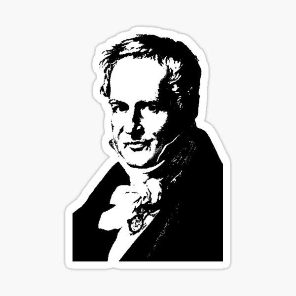 Alexander von Humboldt-3 Sticker