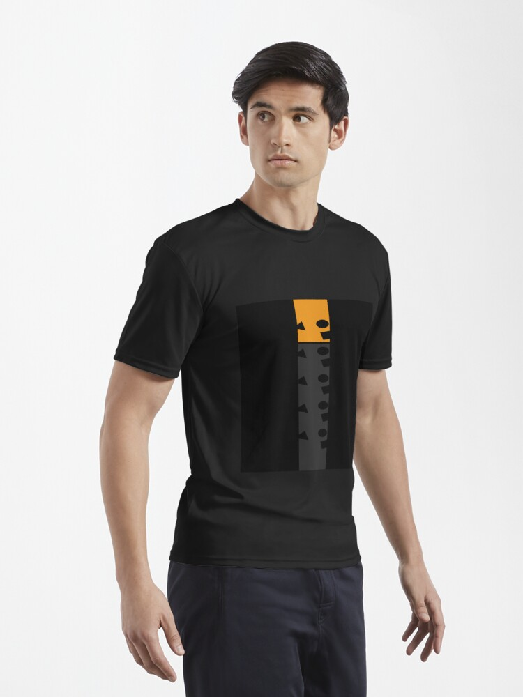 Alternate view of  Space and Time- Geometric design Active T-Shirt