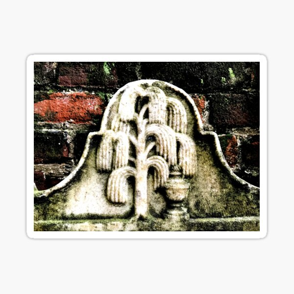 Weeping Willow  Sticker
