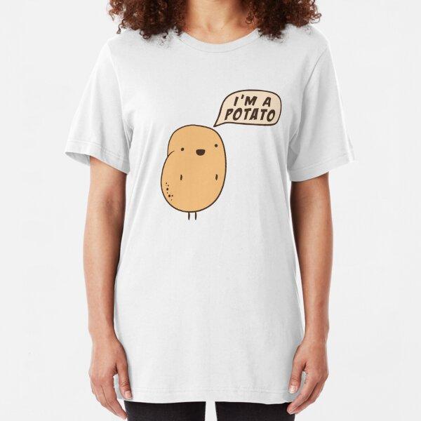 I'm a Potato Slim Fit T-Shirt