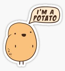I'm a Potato Sticker
