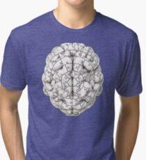 Puzzle brain GINGER Tri-blend T-Shirt