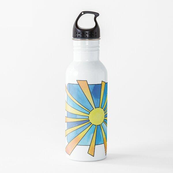 Square Sunburst Water Bottle