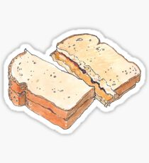 PBJ Sandwich Sticker