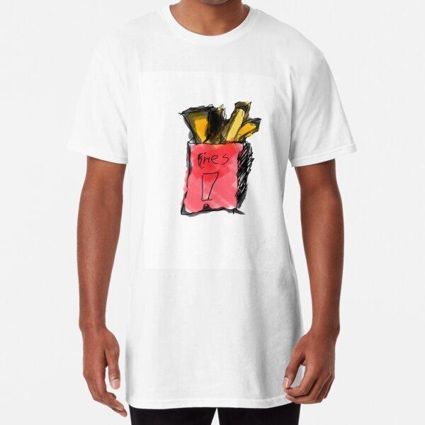 french fries  Long T-Shirt