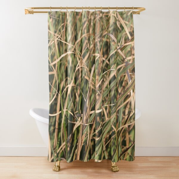 Herbal still life Shower Curtain