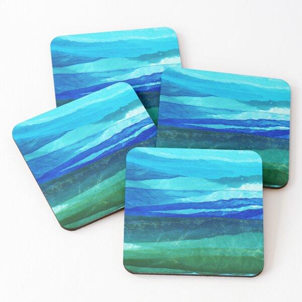Luscious Landscape Coasters (Set of 4)