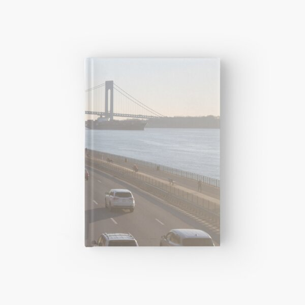 Verrazzano-Narrows Bridge: Suspension Bridge Hardcover Journal