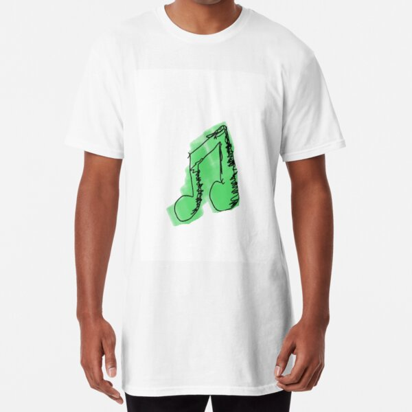 green note Long T-Shirt