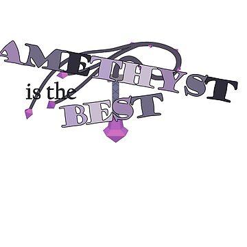 Amethyst is the Best by sleepykiks