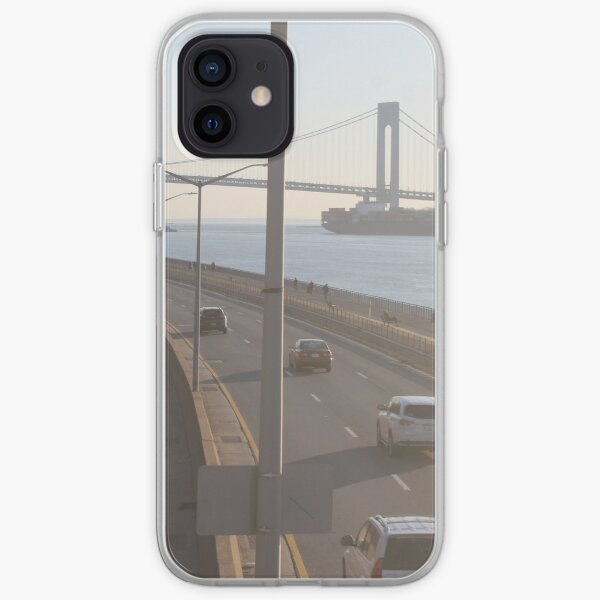 Verrazzano-Narrows Bridge: Suspension Bridge iPhone Soft Case