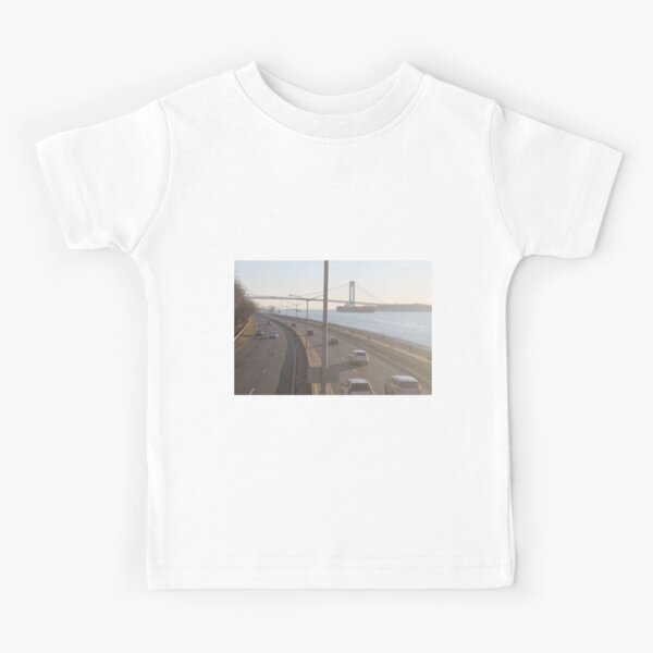 Verrazzano-Narrows Bridge: Suspension Bridge Kids T-Shirt