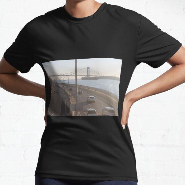 Verrazzano-Narrows Bridge: Suspension Bridge Active T-Shirt