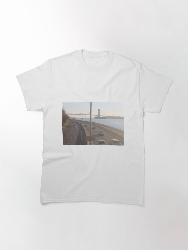 Alternate view of Verrazzano-Narrows Bridge: Suspension Bridge Classic T-Shirt
