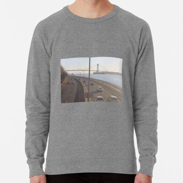 Verrazzano-Narrows Bridge: Suspension Bridge Lightweight Sweatshirt
