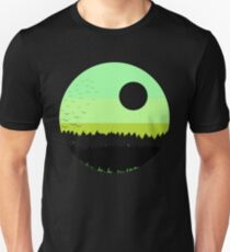 Black shades on the forest T-Shirt