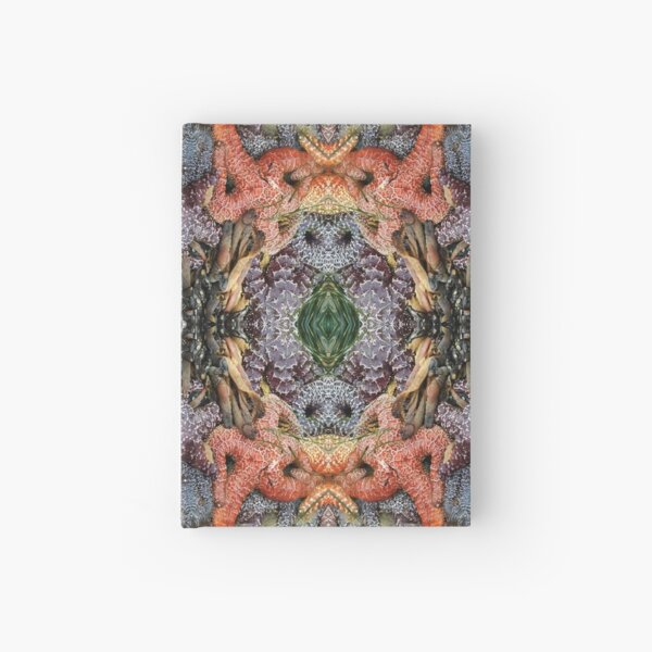 Psychedelic Sealife and Starfish Spectacular Hardcover Journal