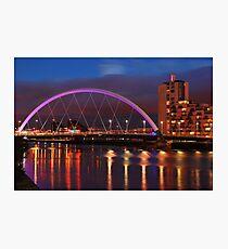 Glasgow Cityscape... Photographic Print