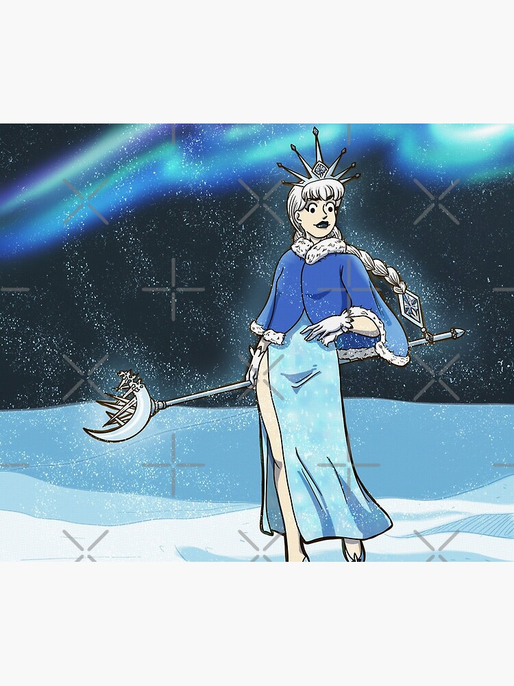Very Vintage Snow Queen by MaeganCook