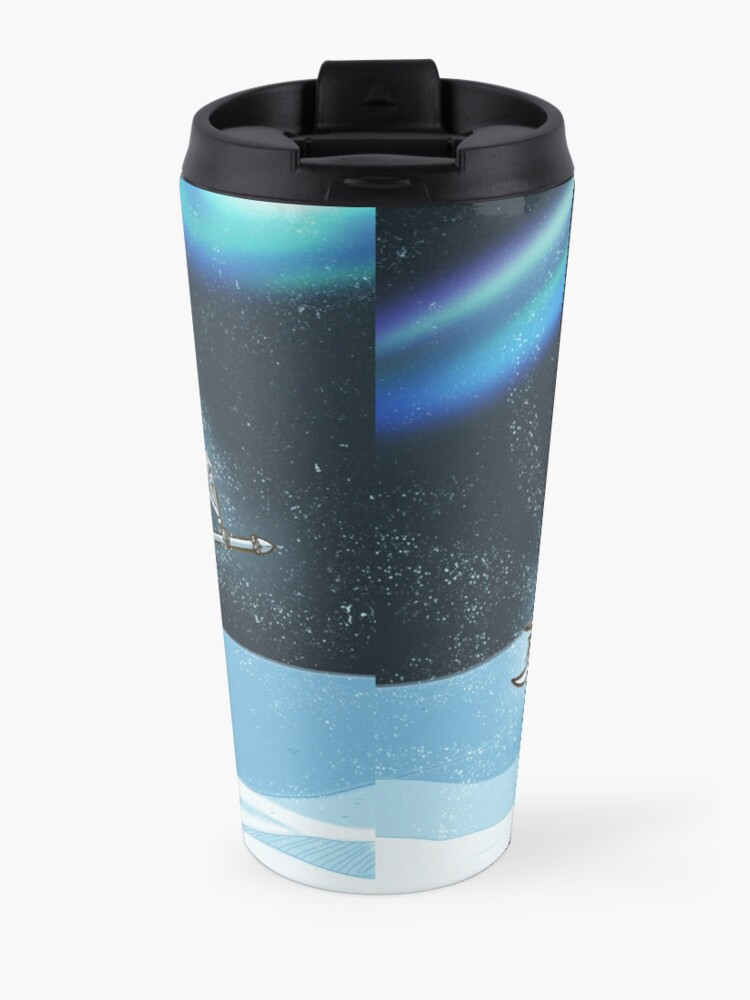 Alternate view of Very Vintage Snow Queen Travel Mug