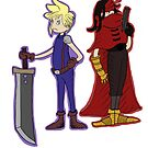 Dr. Seuss Final Fantasy VII by Ghostsartstore