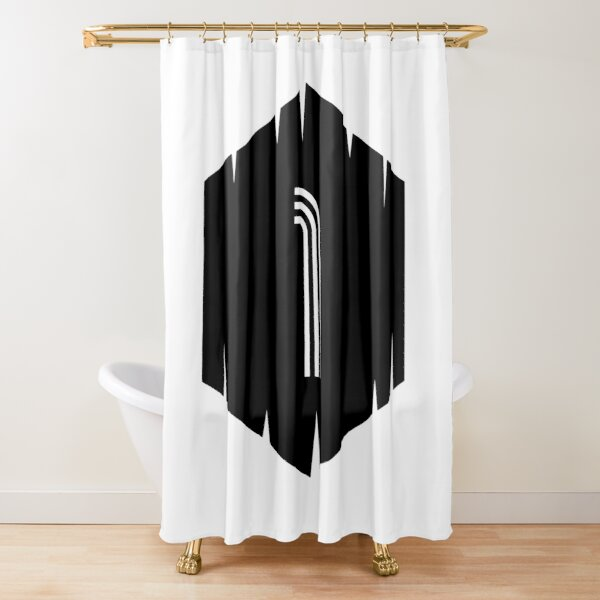 Football shirt number legend 1 Shower Curtain