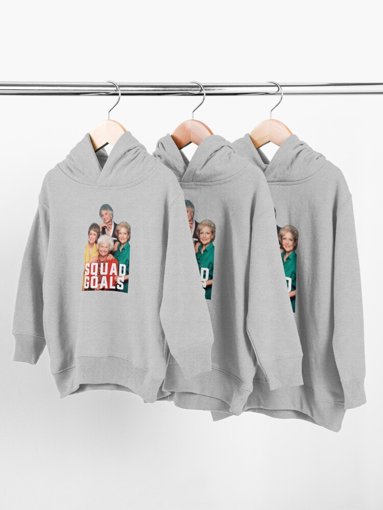 Alternate view of The Golden Squad Toddler Pullover Hoodie