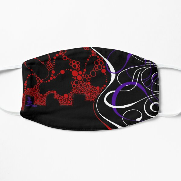 Heart Of The City Flat Mask