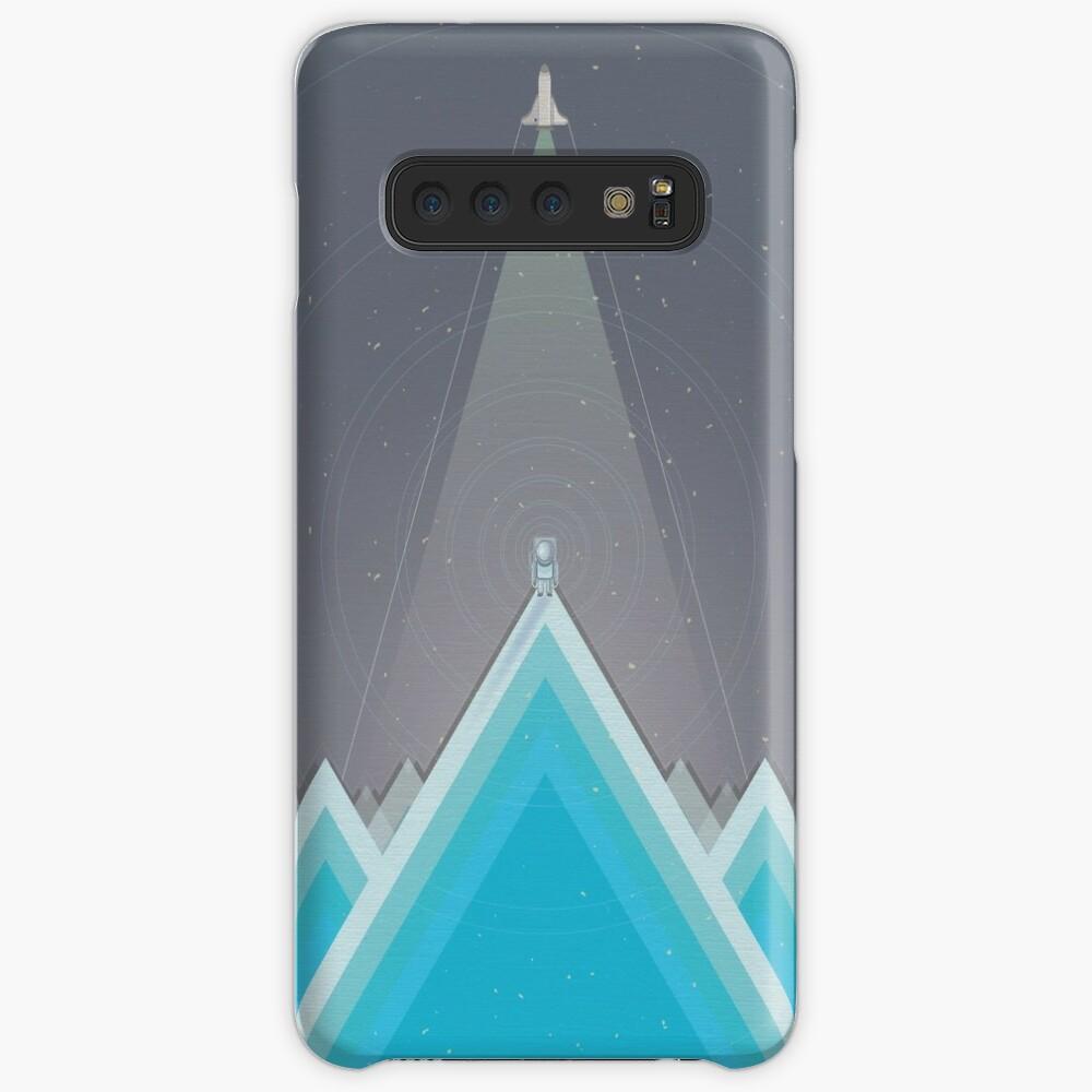 Space Man Blue  Case & Skin for Samsung Galaxy
