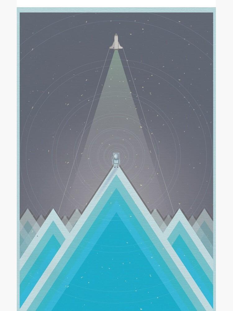 Space Man Blue  by jondenby