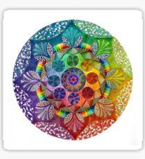 Mandala Artwork  Sticker