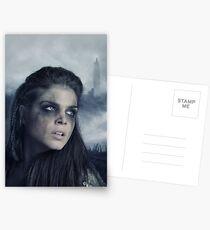 The 100 - Octavia Blake - Season 3 Poster Postcards