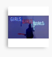 Girls, girls, girls  Metal Print